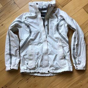 Eddie Bauer white jacket